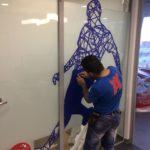 Тонировка перегородок в офисов в Москве
